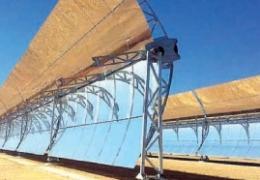 Parque solar para energía solar térmica